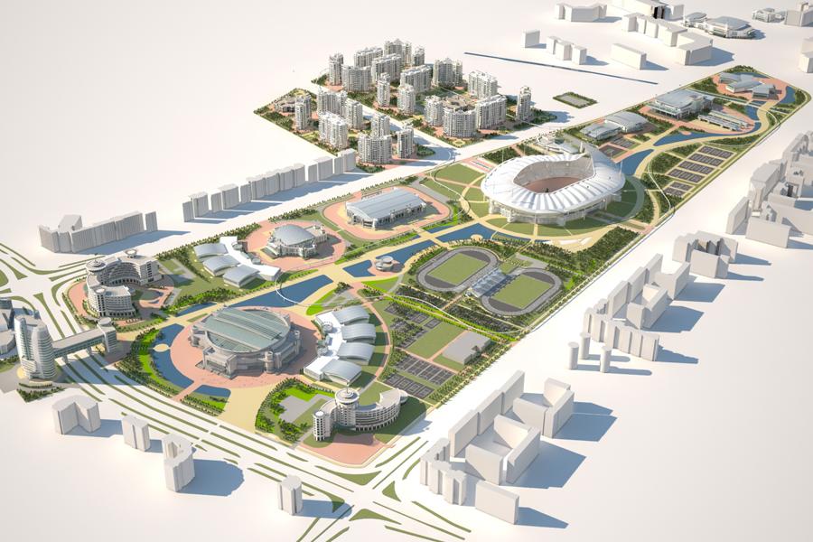 Ashgabat-Olympics-Complex