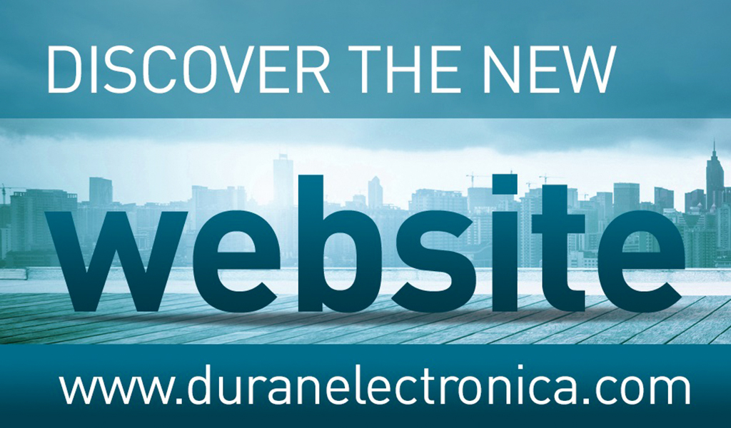 New Duran Electronica Website