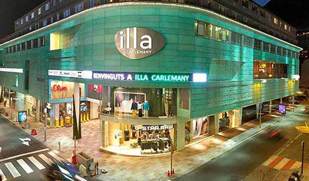 Illa Carlemany Shopping Mall