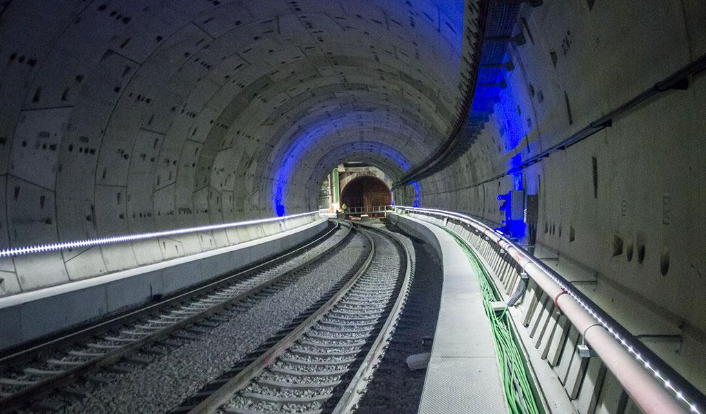 Sol Railway Tunnel (Atocha-Chamartin), Madrid