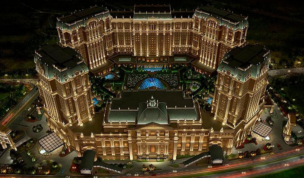 Grand Lisboa Palace Hotel, Macao, China