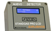 Nuevo Detector STANDGAS PRO LCD