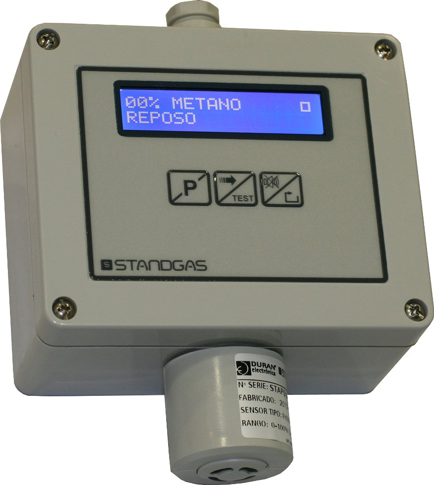 Detector STANDGAS PRO LCD Exp