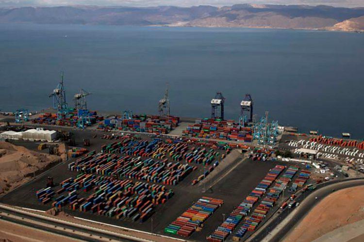 Puerto de Áqaba, Jordania