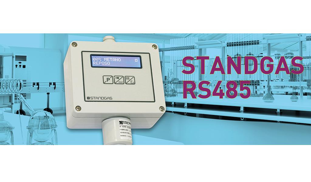 Nueva versión Standgas Pro LCD RS485