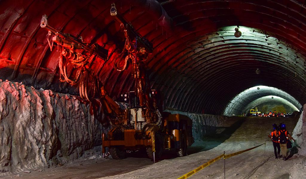 Túnel del Libramiento Sur II de Morelia, Michoacán, México