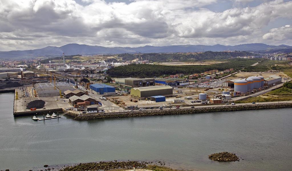 Nueva nave Azsa, San Juan de Nieva, Asturias