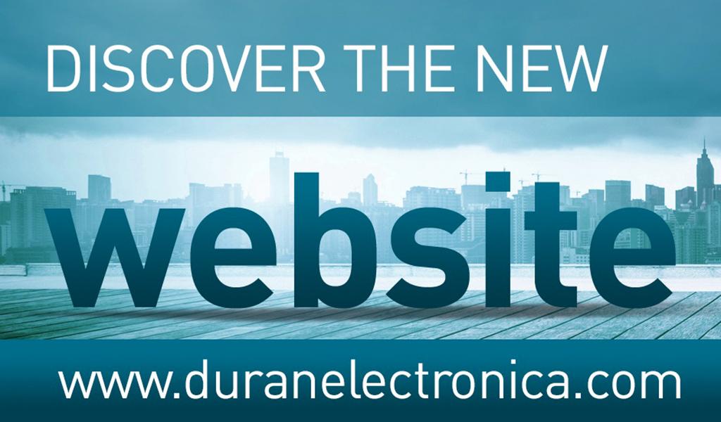 New Duran Electronica Website