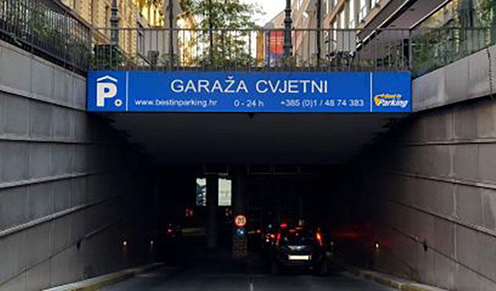 CVJETN Car Park, Zagreb, Croacia