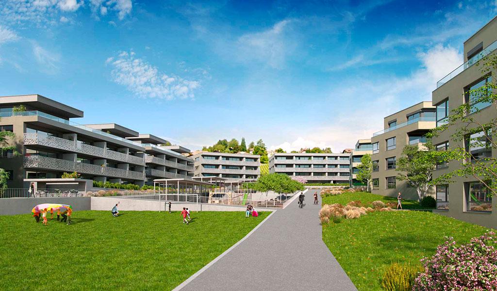 Complexe Résidentiel en GrandChamp, Saint-Légier, Suisse