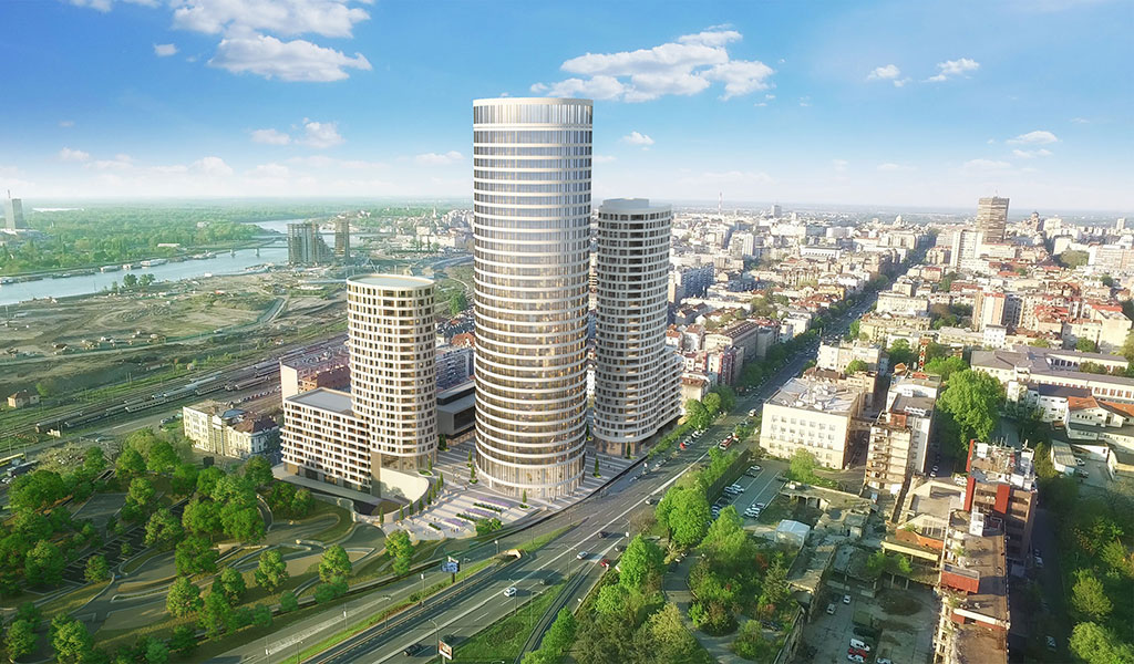 Skyline Belgrade, Belgrade, Serbie
