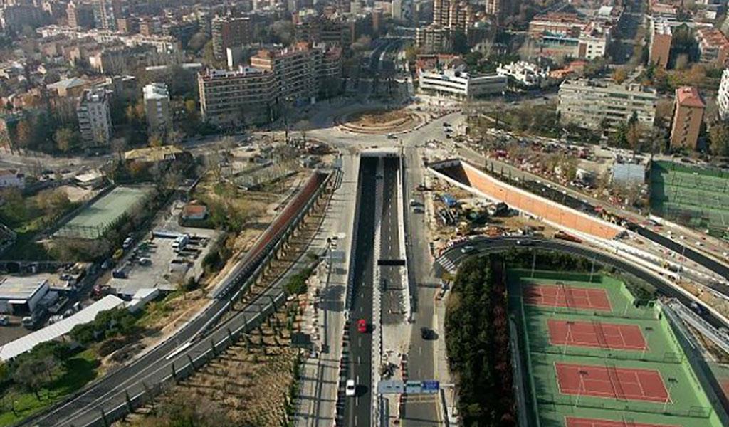 Tunnel de Jose Maria Soler, Madrid, Espagne