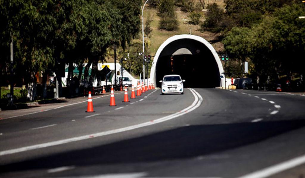 Tunnel El Melón, Valparaiso, Chili