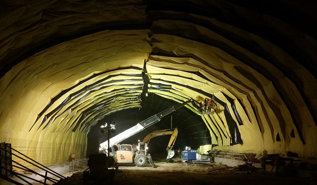 Tunnel Chimalpa, Mexique