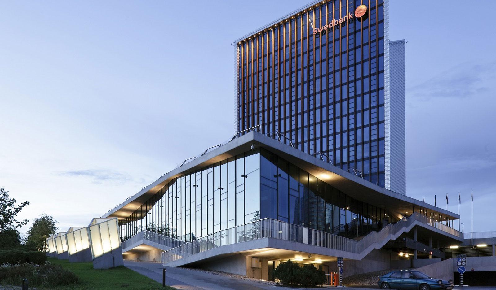 Swedbank, Vilnius, Lituanie