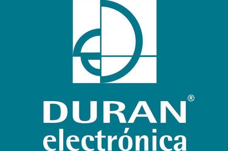 Logo Duran Electrónica - Diseño y fabricación de sistemas de detección de gases e incendios y control ambiental y túneles.