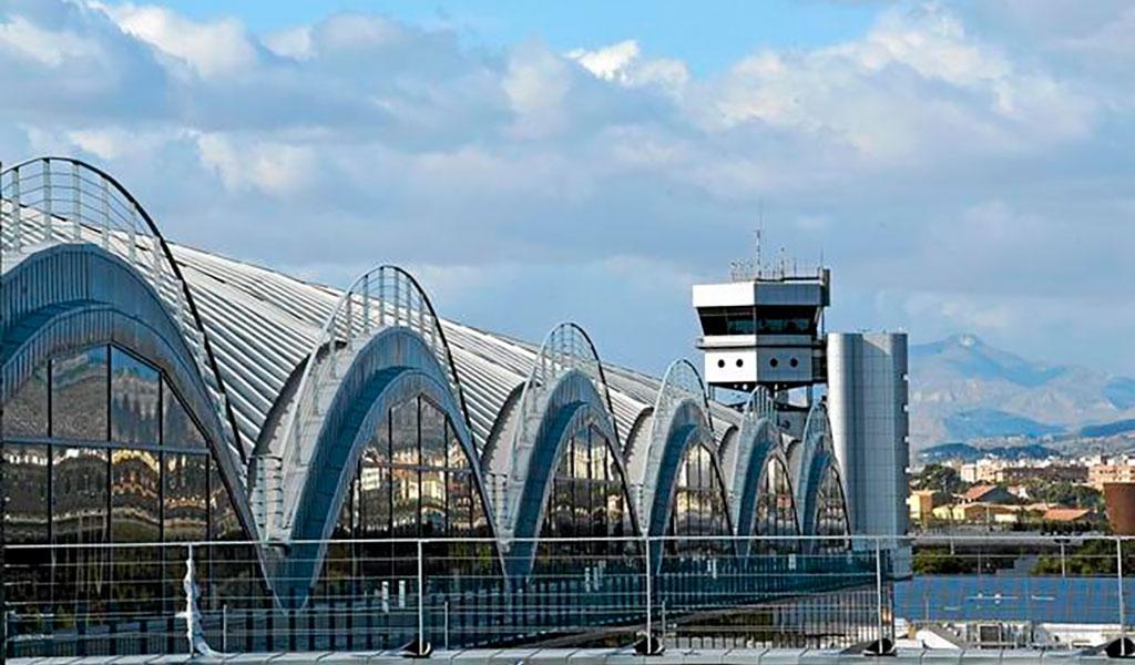 Galería de Servicio, Aeropuerto de Alicante