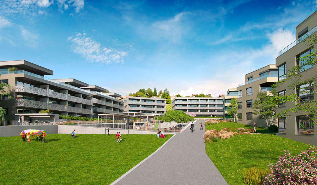 Complejo Residencial En GrandChamp, Suiza