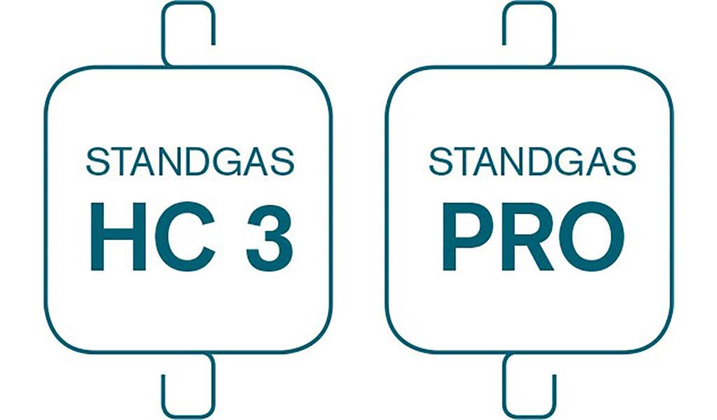 Nuevos Standgas HC 3 y Standgas HC PRO