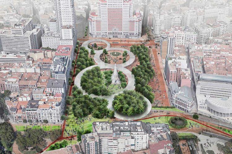 reforma-plaza-espana-con-tunel-de-bailen-madrid